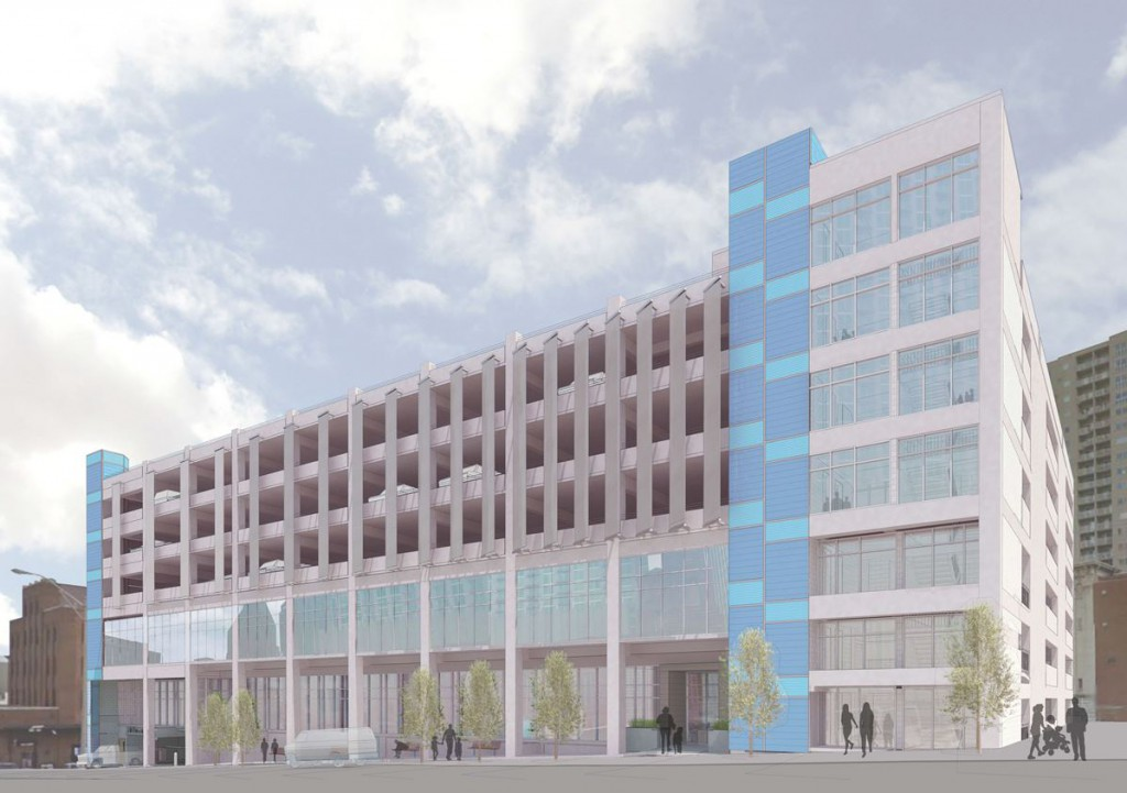 Parking Garage Artist Rendering
