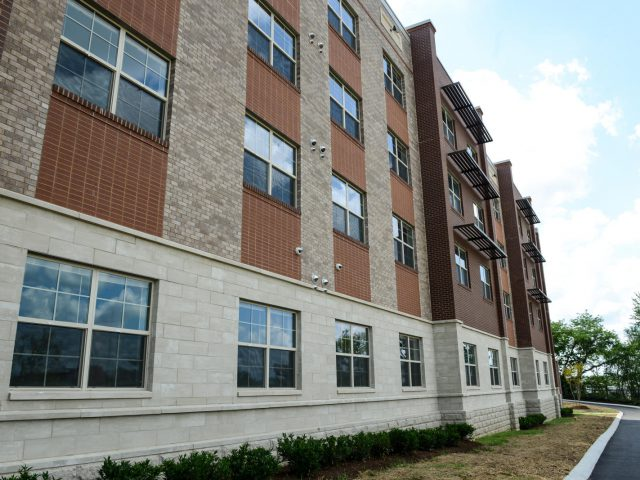 Mayor Barry attends the ribbon cutting and open house for the first residential construction of Envision Cayce. Planning began four years ago with residents, community members and stakeholders. This project is the first public housing in Davidson County in 18 years. It features 70 one-bedroom subsidized units.