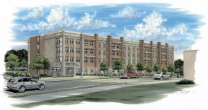 Cayce Place Apartments Rendering